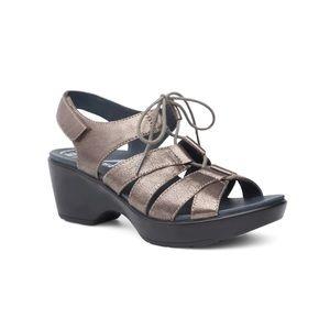 Dansko Janet Neutral Pewter Sandal Size 41